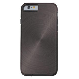 Black Metal Tough iPhone 6 Case