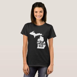 Black Mitten Murderinos Unite! T-Shirt
