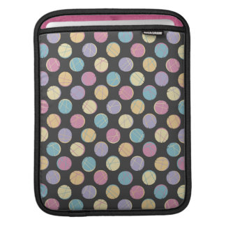 Black modern urban chic retro colorful dots marrie