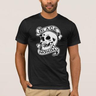 Black Monday RIP Skull Black t-shirt