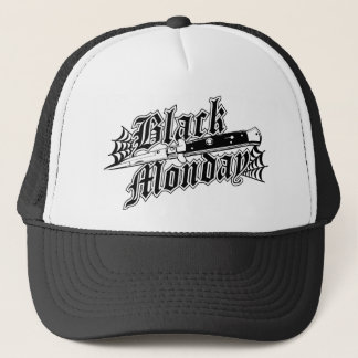 Black Monday Switchblade trucker hat