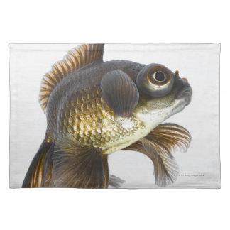 Black moor goldfish (Carassius auratus) 2 Placemat