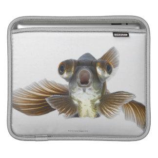 Black moor goldfish (Carassius auratus) iPad Sleeve