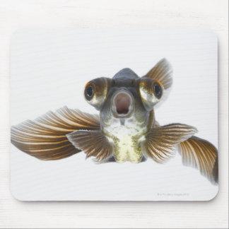 Black moor goldfish (Carassius auratus) Mouse Mat