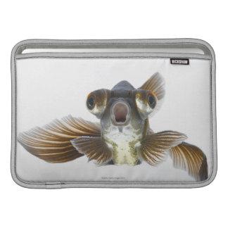 Black moor goldfish (Carassius auratus) Sleeve For MacBook Air