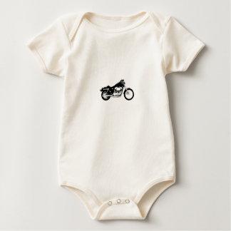 Black Motorcycle Bodysuit