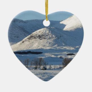 Black Mount , Scotland 8161 Christmas Ornament