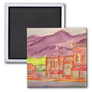 black mountain art square magnet