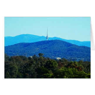 Black Mountain – Canberra Greeting Card