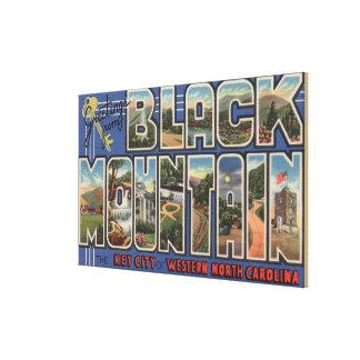 Black Mountain, North Carolina Stretched Canvas Print