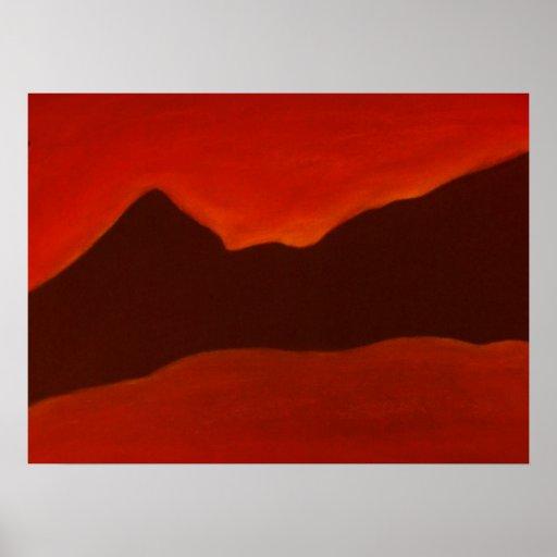 Black Mountains Print