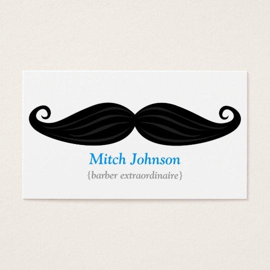Black Moustache Bizcard Business Card