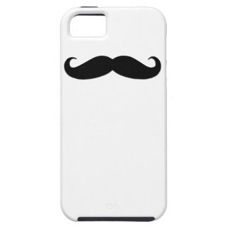 Black Moustache iPhone 5 Case-Mate Case