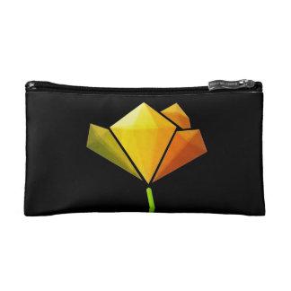 Black Multicoloured Flower Power Bagette Bag