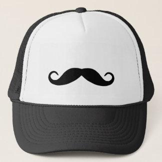 Black Mustache Hat