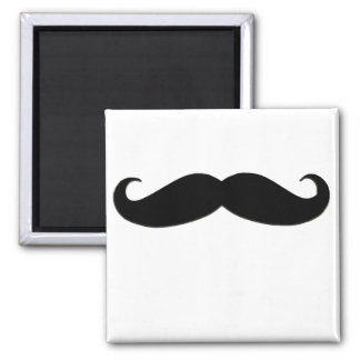 Black Mustache or Black Moustache for Fun Gifts Magnet