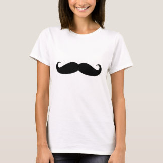 Black Mustache or Black Moustache for Fun Gifts T-Shirt