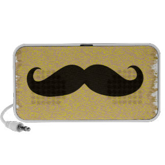 Black Mustache Speaker