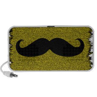 Black Mustache Mini Speaker