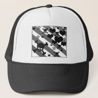 Black n Grey Trucker Hat