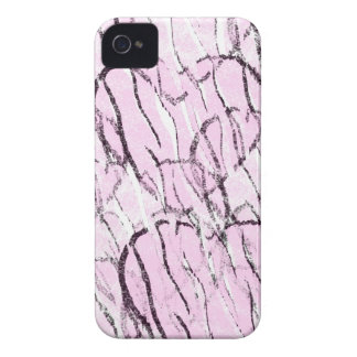 Black-n-Pink Hearts Case-Mate iPhone 4 Case
