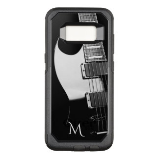 Black n White Electric Guitar Otterbox Galaxy Case