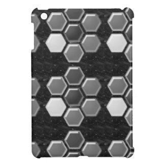 Black n White : Elegant Buttons iPad Mini Cover