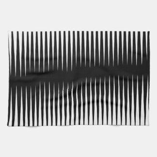 Black-n-White Frequency Towel