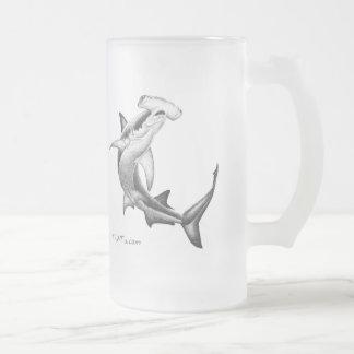 Black n White Shark Coffee Mug