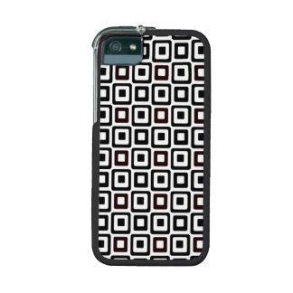 Black-n-White Squares Case For iPhone 5