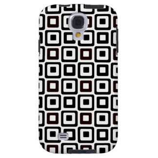 Black-n-White Squares Galaxy S4 Case