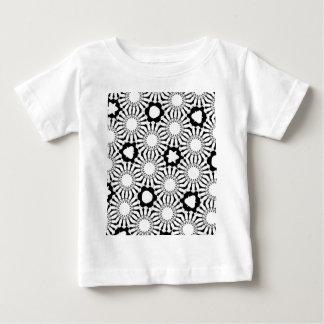 Black n White Sunflower Baby T-Shirt