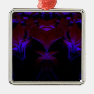 black new color design Silver-Colored square decoration