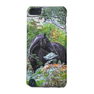 Black New Forest Pony & Forest U.K. iPod Touch 5G Cover