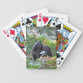Black New Forest Pony Forest U K Card Deck