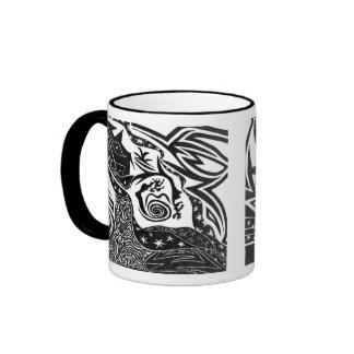 Black Night Mug