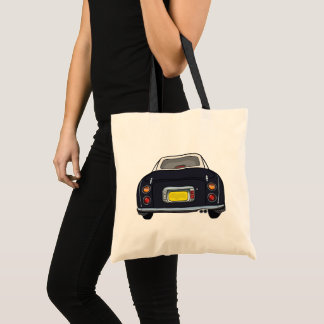 Black Nissan Figaro Car Useful Tote Bag