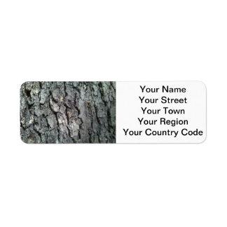 Black Oak Return Address Label