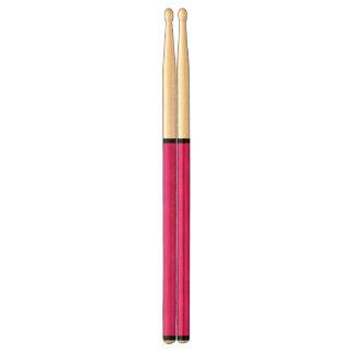 Black on Pink Drumsticks