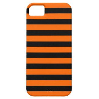 Black Orange Stripe horizontal iPhone 5  case
