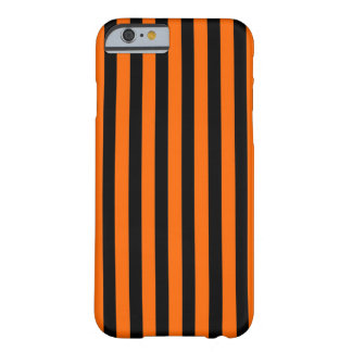 Black Orange Stripe vertical iPhone 6 case