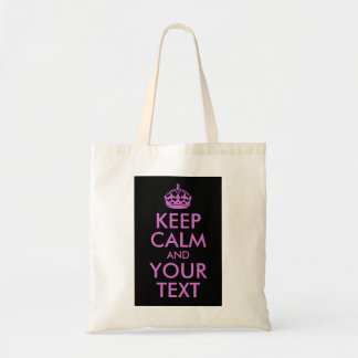 Black Orchid Keep Calm and Your Text