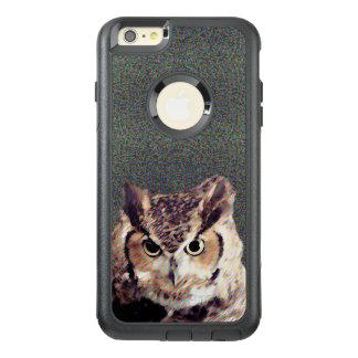 Black Otterbox Apple iPhone Case - Owl