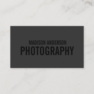 Photography business card zazzle uk black out photography business cards reheart Choice Image