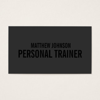 Black Out Trainer | Business Cards