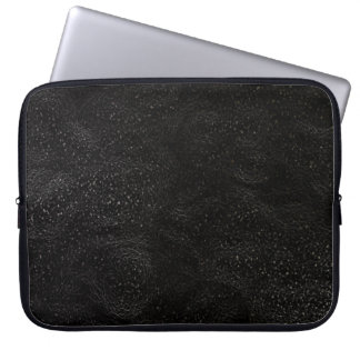 Black Outer Space Galaxy 15 Inch Laptop Sleeve