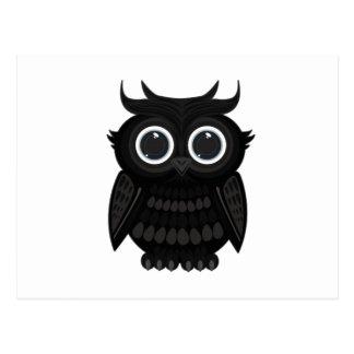 Black Owl Postcard