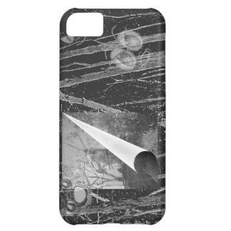 Black Page Curl with Eyes Case-Mate Case iPhone 5C Case