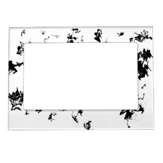 Black Paint Magnetic Frame