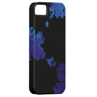 black paint splashes barely there iPhone 5 case